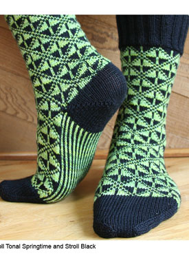 Art Deco Socks