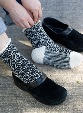 Crop Circles Socks