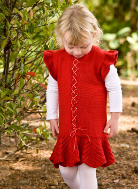 Frilly Lace Child Dress