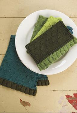 Colorblock Tea Towel Set
