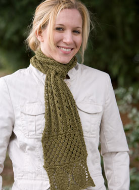 The Triple Lace Scarf