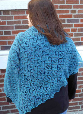Gentle Rain Shawl