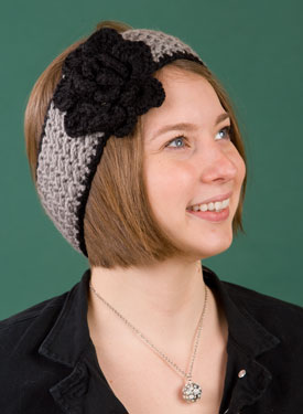 Oxford Crochet Headband/Ear Warmer
