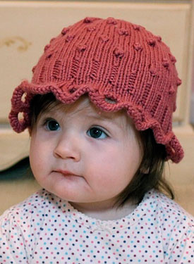 Bubbles Baby Hat