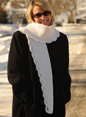 Icicles Crochet Scarf