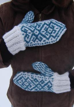 Winter Tracery Mittens