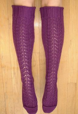 Magic Lace Knee Socks