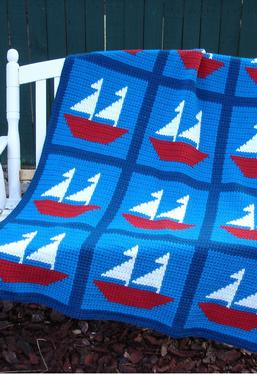 Sail Away Crochet Afghan