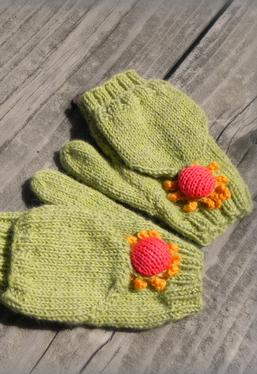 Blooming Convertible Mittens & Gloves