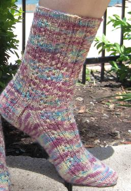 Rose Colored Glasses Socks