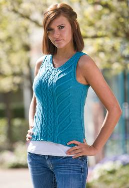 Cabled Summer Top