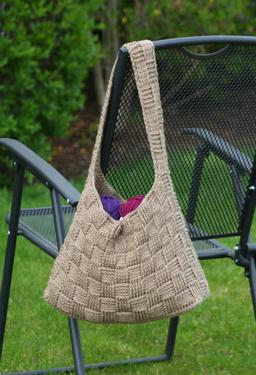 Harvey Basketweave Crochet Tote