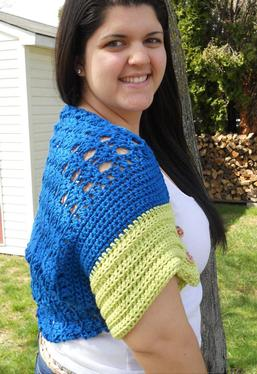 Land and Sea Crochet Convertible Wrap