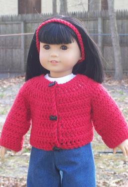 "Simply Stylish Sweaters for 18"" Dolls"
