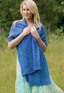 Summer Rain Shawl