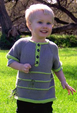 Garter Stripe Child Henley