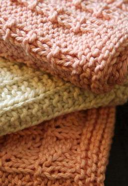Kitchen Knitted Dishcloths #2