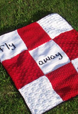 Fly Away Home Baby Blanket