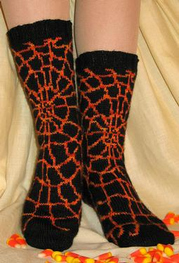 Shelob's Lair Socks