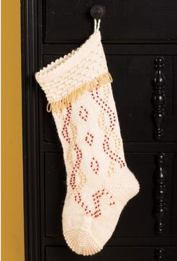 Beaded Beauty Christmas Stocking