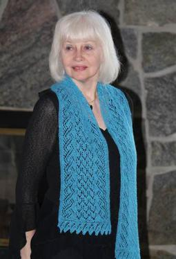 Tide Pool Lace Scarf