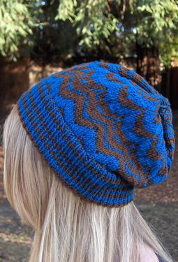Missoni-inspired Hat