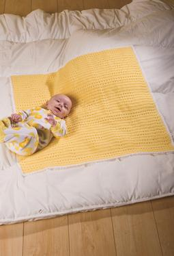 Baby Filet Just Ducky Crochet Blankie