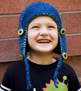 Toasty Bean Earflap Hat