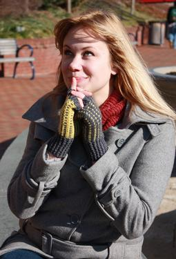 Warblers Fingerless Mitts