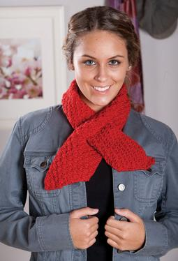 Support Ribbon Scarves Pattern