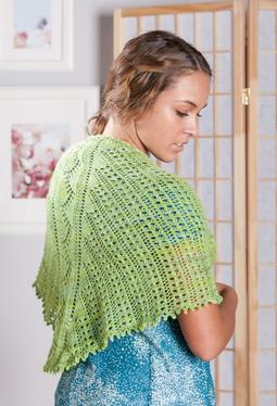 Green Apples Lace Scarf