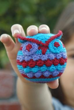 Hootie Who Owl Crochet Ornament