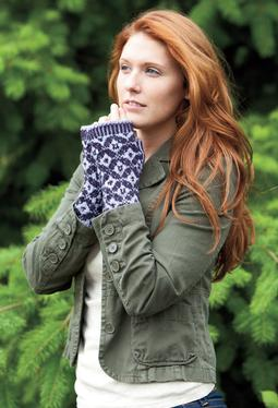 Damask Mitts