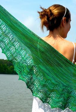 Waveline Shawl