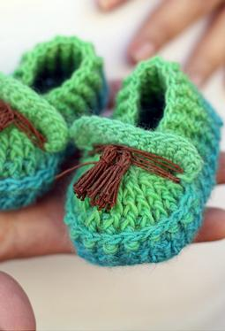Shoebeedoo Crochet Loafers
