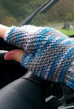 Half-finger Crochet Gloves - Knitting Patterns and Crochet ...
