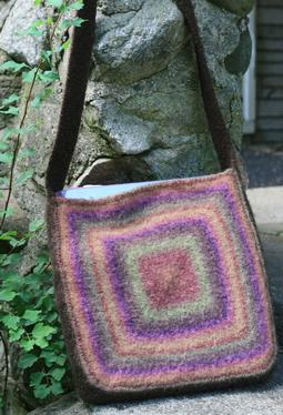 Color, Squared Felted Tote