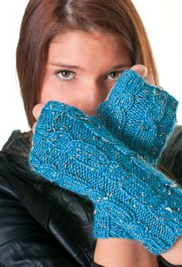 Megan's Cabled Mittens