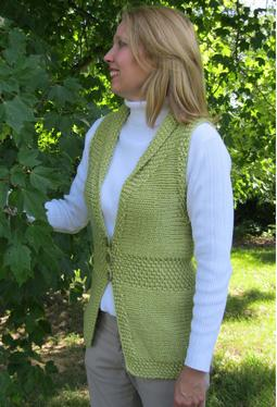 Shawl Collar Embrace Vest
