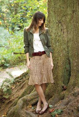 Leaves Skirt