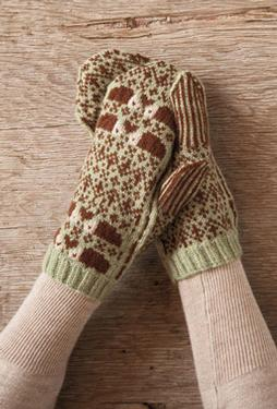 The Hedgehog Mittens