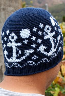 All Ages Nautical Nights Crochet Beanie