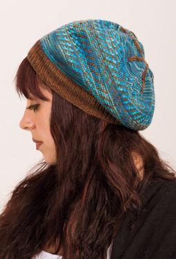 Tapestry Slouch Hat