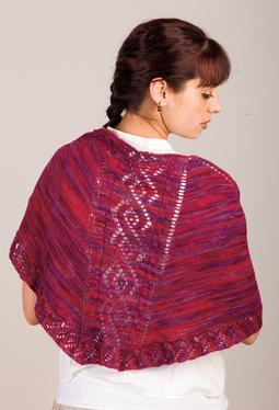 Vines on a Trellis Shawl