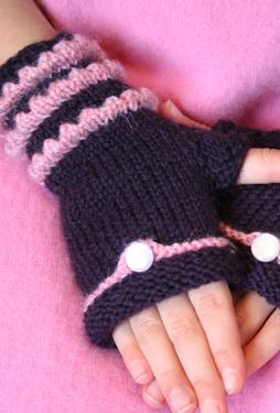 Fairytale Fingerless Mittens