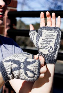 Rock, Paper, Scissors Mitts