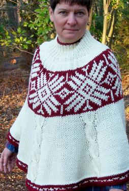 Andean Winter Poncho