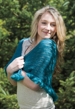 Misty Lagoon Shawl Pattern