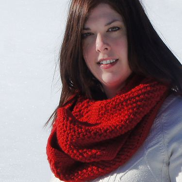 Textured Crochet Cowl Pattern