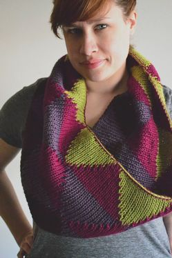 Honors Geometry Cowl Pattern